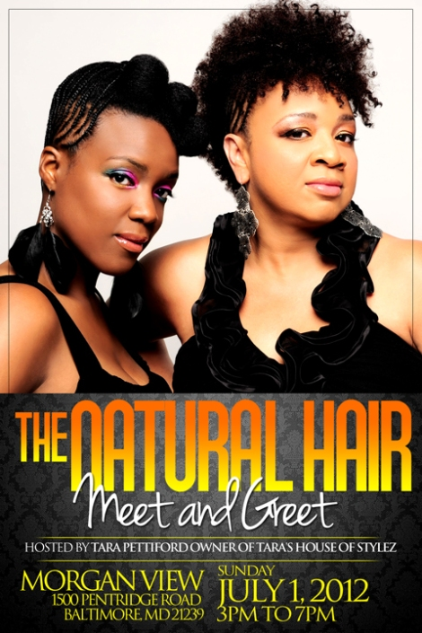 Tara House of Stylez - The Natural Hair Meet & Greet