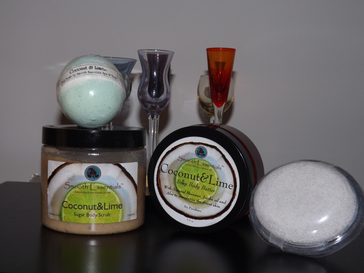 Smooth Essentials Coconut & Lime Spa Set