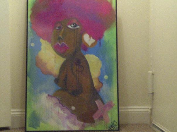 Writers Block - Magenta Fro - The Diary of a Natural Gal