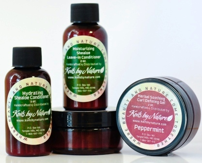 Koils by Nature Sample Set - The Diary of Natural Gal - Baby, It's Cold Outside